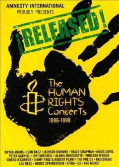 Released! the human rights concerts 1986-1998 cover image
