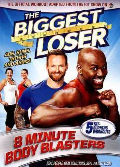 The biggest loser. 8 minute body blasters cover image