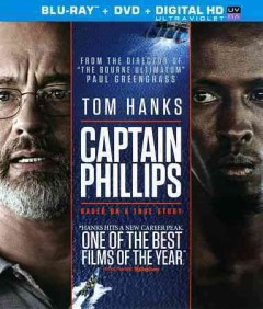 Captain Phillips [Blu-ray + DVD combo] cover image