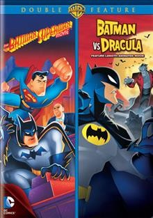 The Batman Superman movie The Batman vs. Dracula : feature-length animated movie cover image