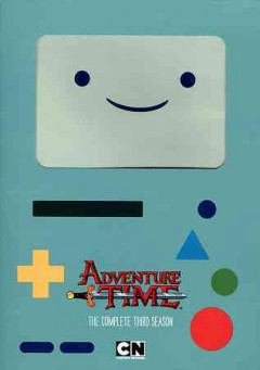 Adventure time. Season 3 cover image