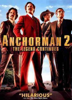 Anchorman. 2 the legend continues cover image