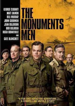 The monuments men cover image