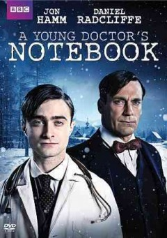 A young doctor's notebook cover image
