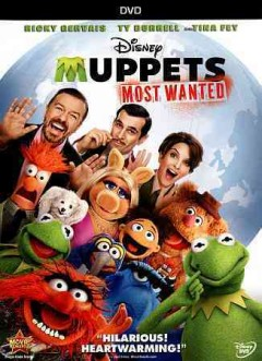 Muppets most wanted cover image