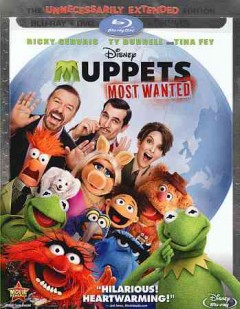 Muppets most wanted [Blu-ray + DVD combo] cover image