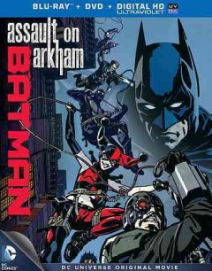 Batman. Assault on Arkham [Blu-ray + DVD combo] cover image