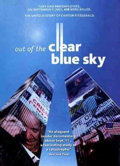 Out of the clear blue sky cover image