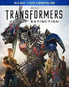 Transformers. Age of extinction [Blu-ray + DVD combo] cover image