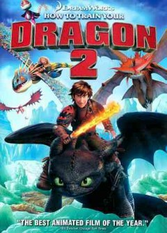 How to train your dragon 2 cover image
