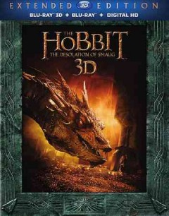 The hobbit. The desolation of Smaug [3D Blu-ray + Blu-ray combo] cover image