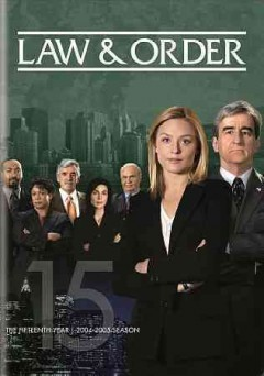 Law & order. Season 15 cover image