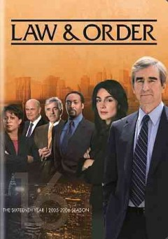 Law & order. Season 16 cover image