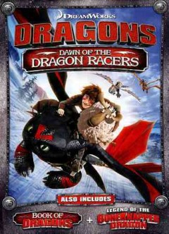 Dragons. Dawn of the dragon racers cover image