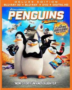 Penguins of Madagascar [3D Blu-ray + Blu-ray + DVD combo] cover image