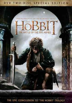 The hobbit. The battle of the five armies cover image