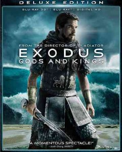 Exodus. Gods and kings [3D Blu-ray + Blu-ray combo] cover image