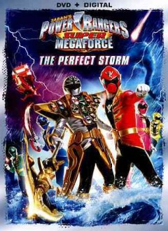Power Rangers super megaforce. The perfect storm cover image