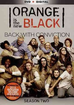 Orange is the new black. Season 2 cover image