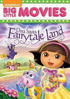 Dora saves Fairytale Land cover image
