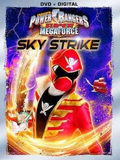 Power Rangers super megaforce. Sky strike cover image