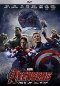 Avengers age of Ultron cover image