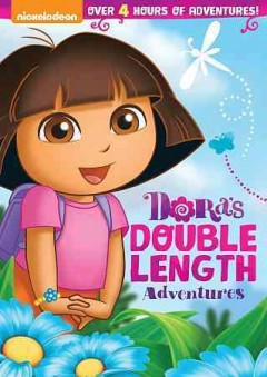 Dora's double-length adventures cover image