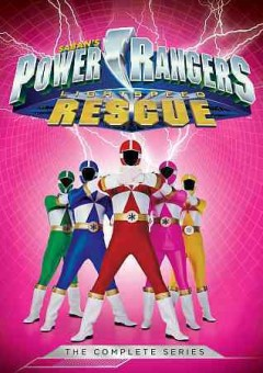 Power Rangers lightspeed rescue the complete series cover image