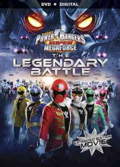 Power Rangers super megaforce. The legendary battle cover image