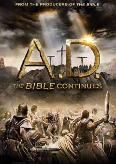 A.D the Bible continues cover image