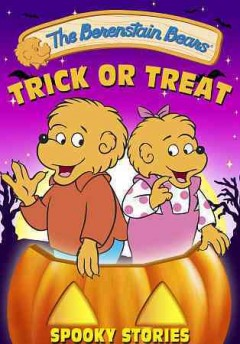 The Berenstain Bears. Spooky stories cover image