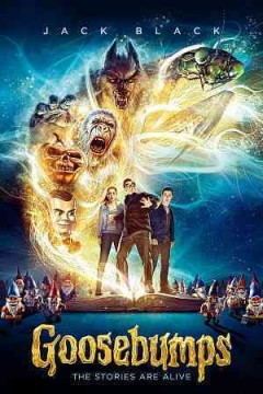 Goosebumps [3D Blu-ray + Blu-ray + DVD combo] cover image