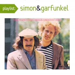 Playlist. Simon and Garfunkel's greatest hits cover image
