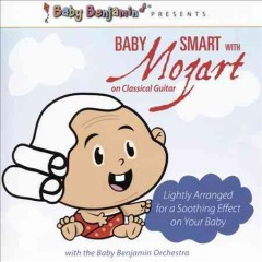 Baby Smart with Mozart on classical guitar cover image