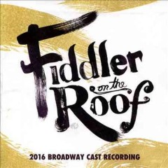 Fiddler on the roof 2016 Broadway cast recording cover image