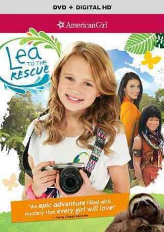 American girl. Lea to the rescue cover image