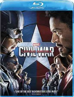 Captain America, civil war cover image