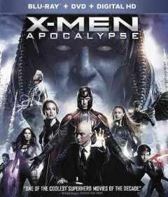 X-men. Apocalypse [Blu-ray + DVD combo] cover image