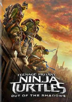 Teenage mutant ninja turtles out of the shadows cover image