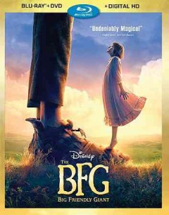 The BFG [Blu-ray + DVD combo] cover image