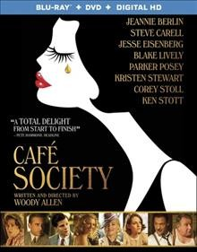 Café society [Blu-ray + DVD combo] cover image