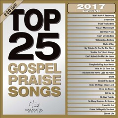 Top 25 gospel praise songs cover image