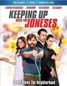 Keeping up with the Joneses [Blu-ray + DVD combo] cover image