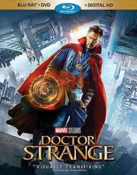 Doctor Strange [Blu-ray + DVD combo] cover image