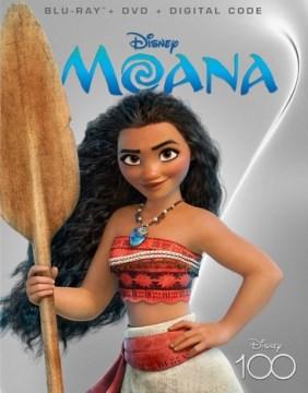Moana [Blu-ray + DVD combo] cover image