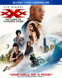 XXX. Return of Xander Cage [Blu-ray + DVD combo] cover image