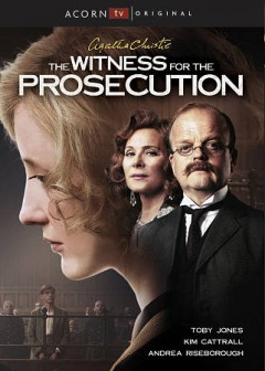 The witness for the prosecution cover image