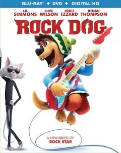 Rock dog [Blu-ray + DVD combo] cover image