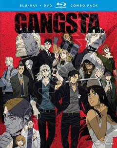 Gangsta. The complete series [Blu-ray + DVD combo] cover image