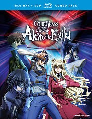 Code Geass. Akito the exiled, OVAs 01-05 [Blu-ray + DVD combo] cover image